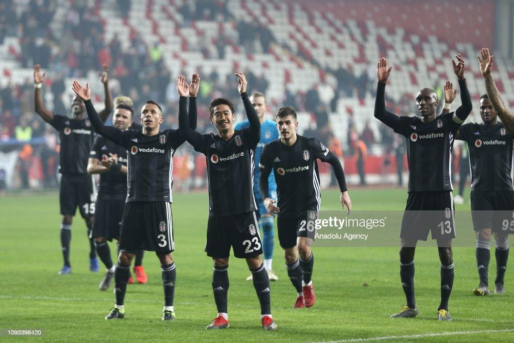 Antalyaspor vs Besiktas: Turkish Super Lig : ニュース写真
