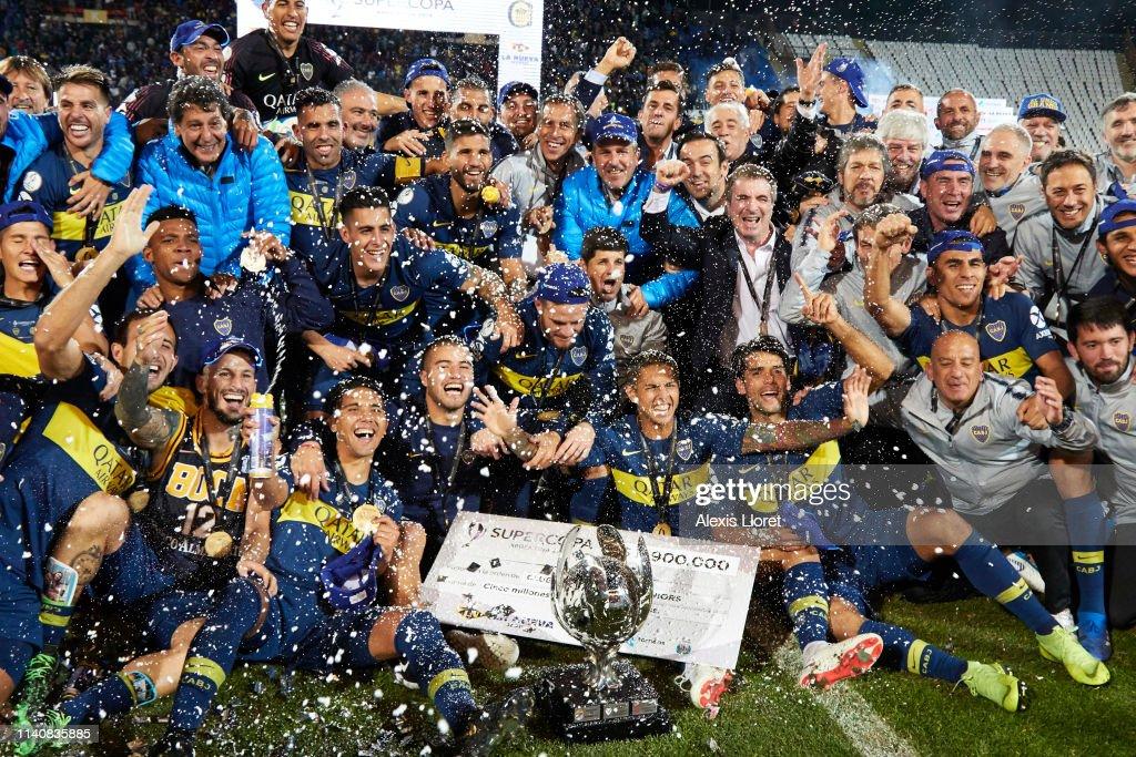 Boca Juniors v Rosario Central - Supercopa Argentina : News Photo