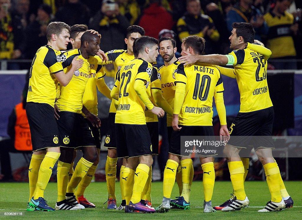 Borussia Dortmund vs Sporting Lisbon - UEFA Champions League : News Photo