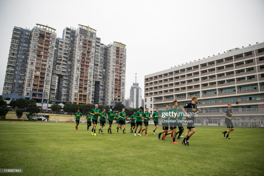 CHN: Borussia Moenchengladbach Training Session - Borussia Moenchengladbach China Tour 2019