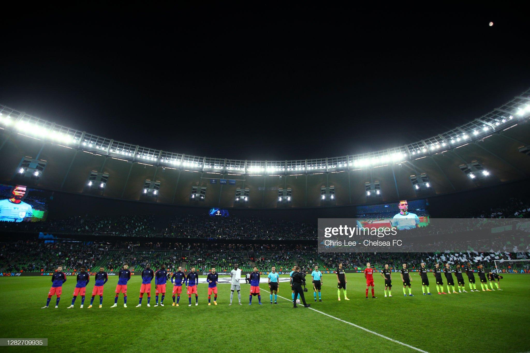 FC Krasnodar v Chelsea FC: Group E - UEFA Champions League : News Photo