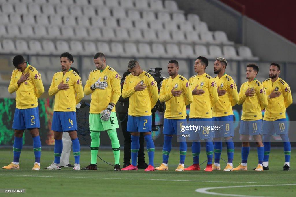 Peru v Brazil - South American Qualifiers for Qatar 2022 : ニュース写真