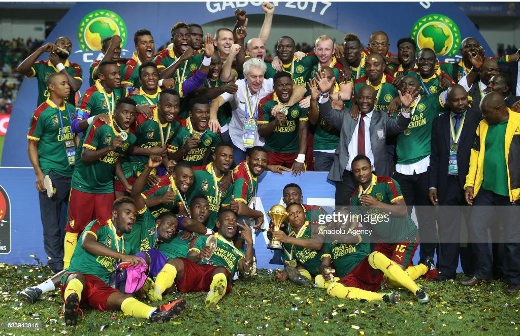 Egypt v Cameroon - Africa Cup of Nations 2017 : News Photo