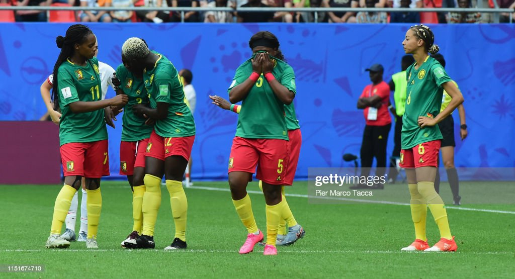 England v Cameroon: Round Of 16  - 2019 FIFA Women's World Cup France : News Photo
