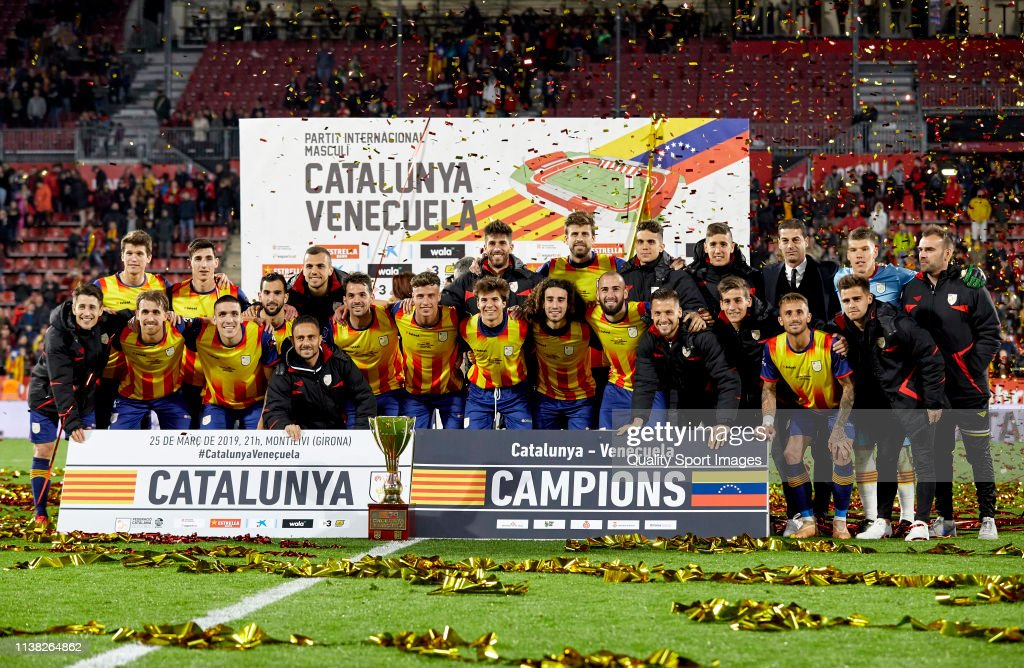 Catalonia v Venezuela - International Friendly : News Photo