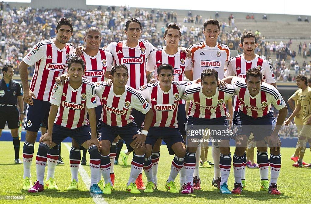 Pumas v Chivas - Apertura 2014 Liga MX : News Photo