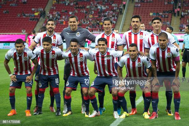 Players of Chivas pose for photos prior the 13th round match between Chivas and Morelia as part of the Torneo Apertura 2017 Liga MX at Omnilife...