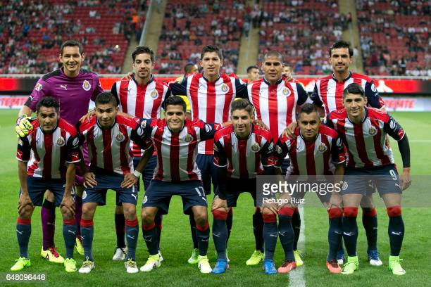 Players of Chivas pose for photos prior the 9th round match between Chivas and Toluca as part of the Torneo Clausura 2017 Liga MX at Chivas Stadium...