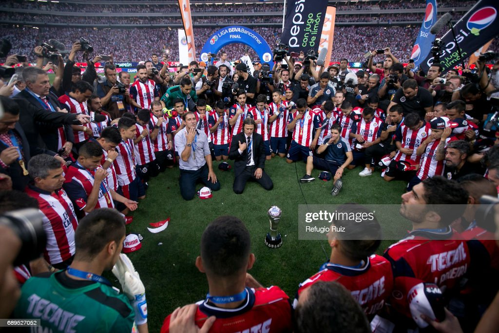Chivas v Tigres UANL - Playoffs Torneo Clausura 2017 Liga MX : Nachrichtenfoto