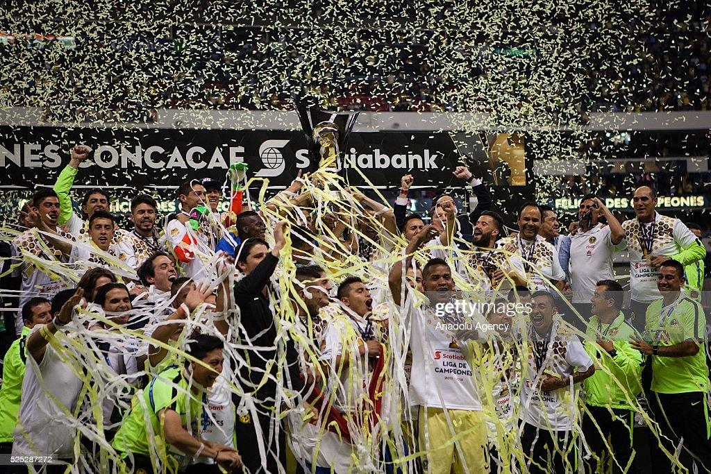 Club America vs Tigres - CONCACAF Champions League Final  : ニュース写真