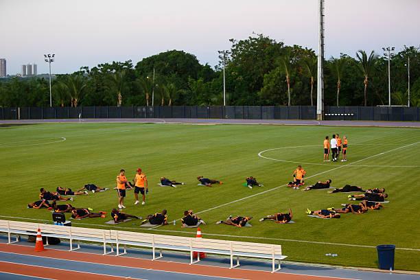 BRA: Colombia Training  - 2014 FIFA World Cup Brazil