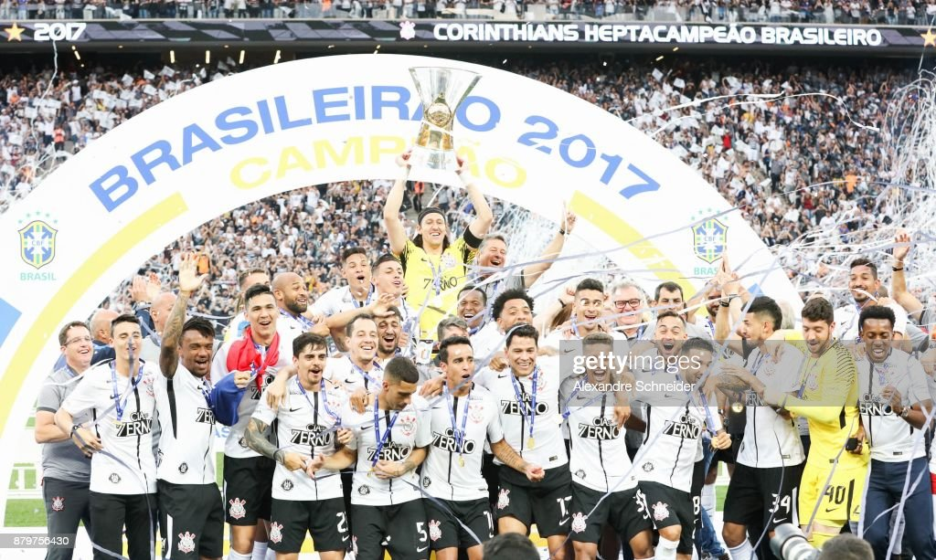 Corinthians v Atletico MG - Brasileirao Series A 2017 : News Photo