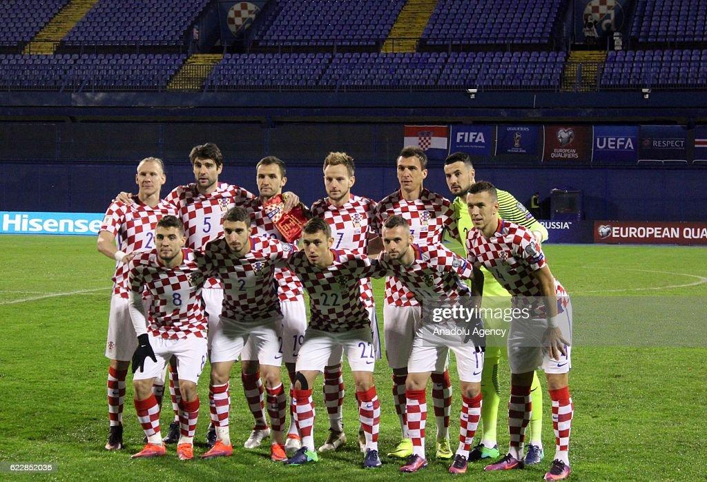 Croatia vs Iceland - FIFA 2018 World Cup Qualifier : News Photo