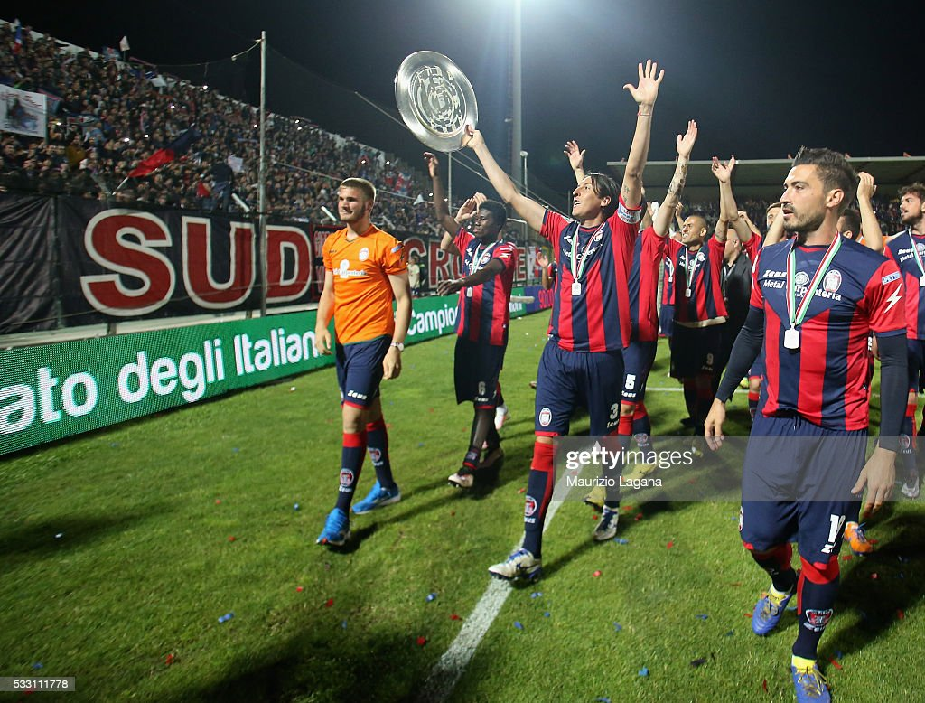 FC Crotone v Virtus Entella - Serie B : News Photo
