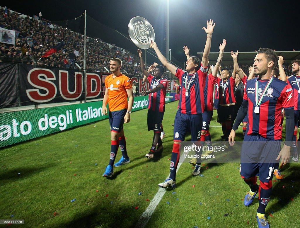 FC Crotone v Virtus Entella - Serie B : ニュース写真