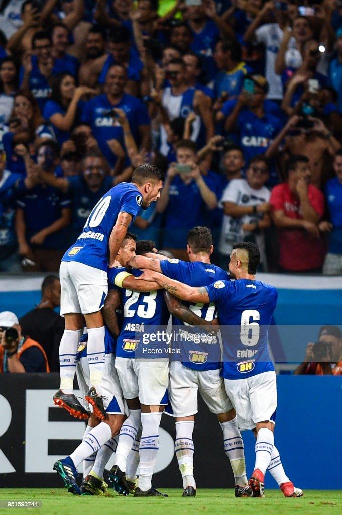 Cruzeiro v Universidad de Chile - Copa CONMEBOL Libertadores 2018