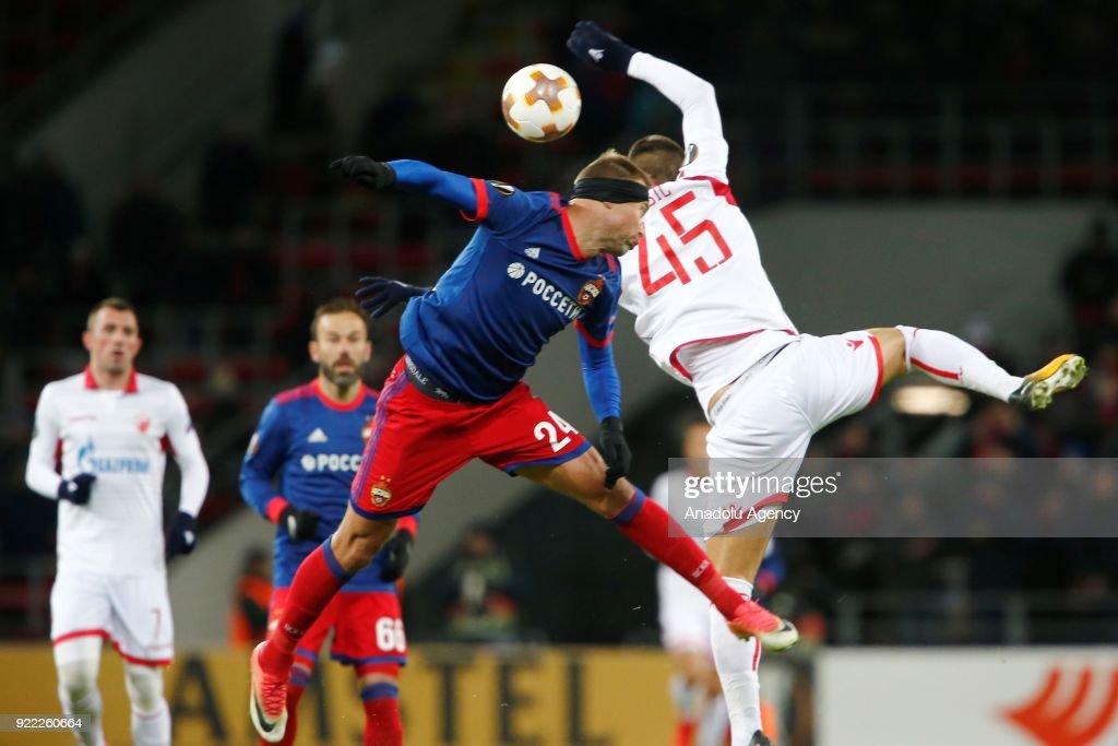 CSKA Moscow vs Crvena Zvezda : UEFA Europa League  : News Photo
