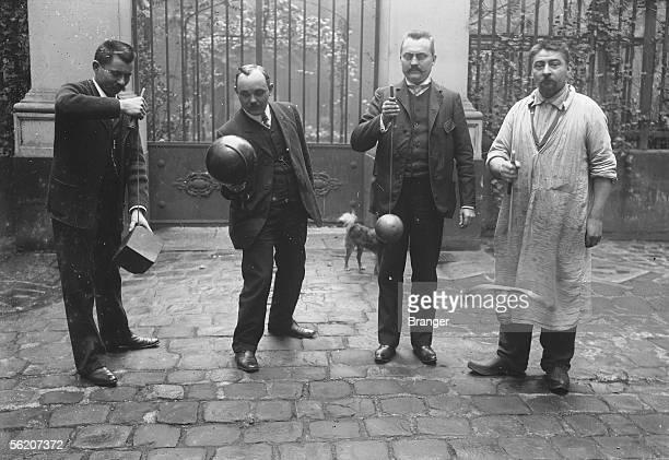 Players of cupandball France 1906