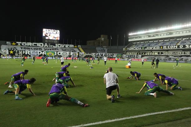 BRA: Santos v Defensa y Justicia - Copa CONMEBOL Libertadores 2020