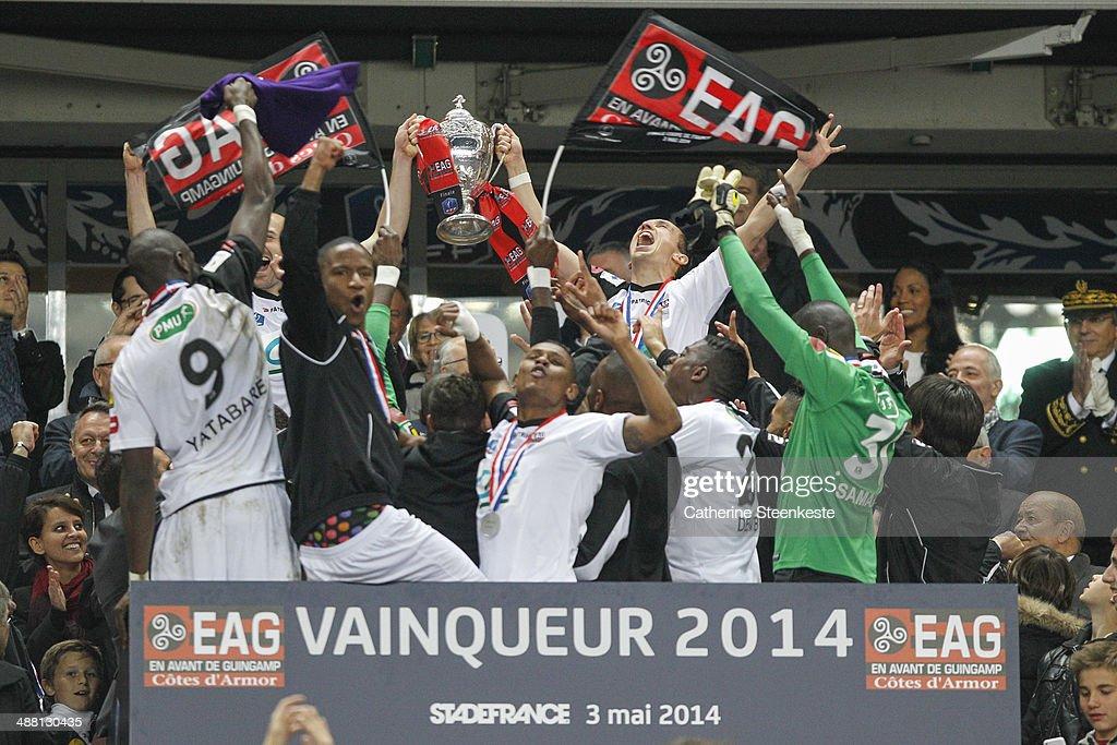 Stade Rennais FC v EA Guingamp - Finale Coupe de France : News Photo
