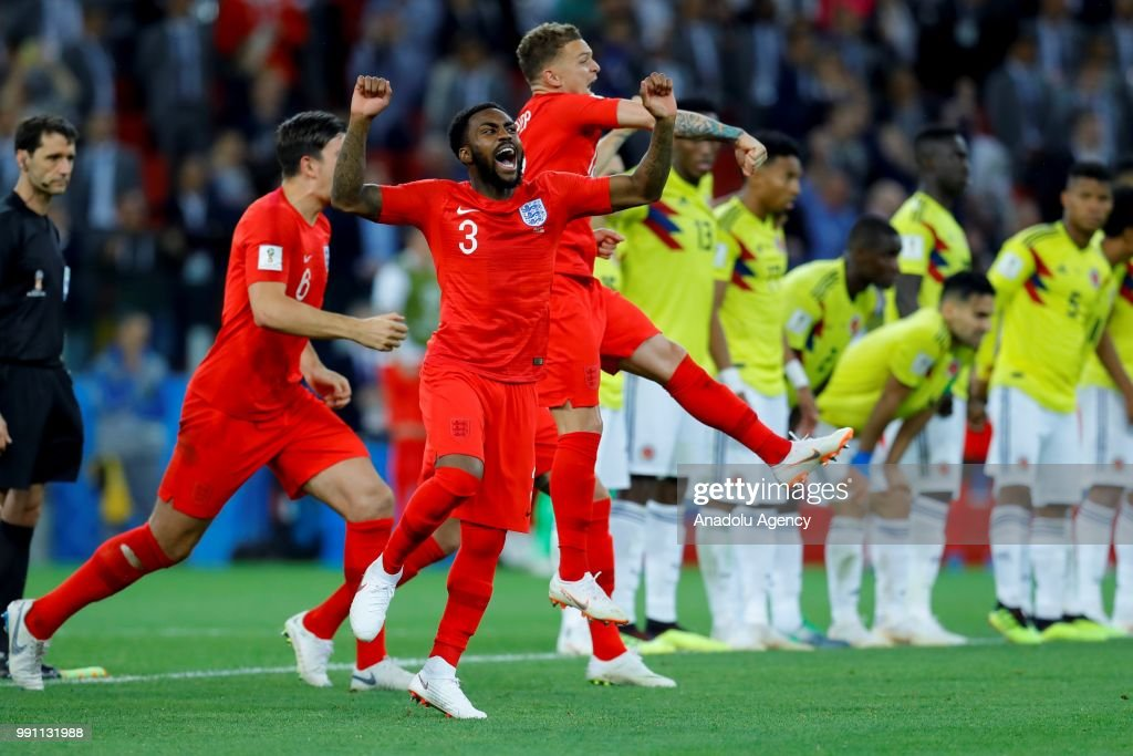 Colombia v England : Round of 16 - 2018 FIFA World Cup Russia : News Photo
