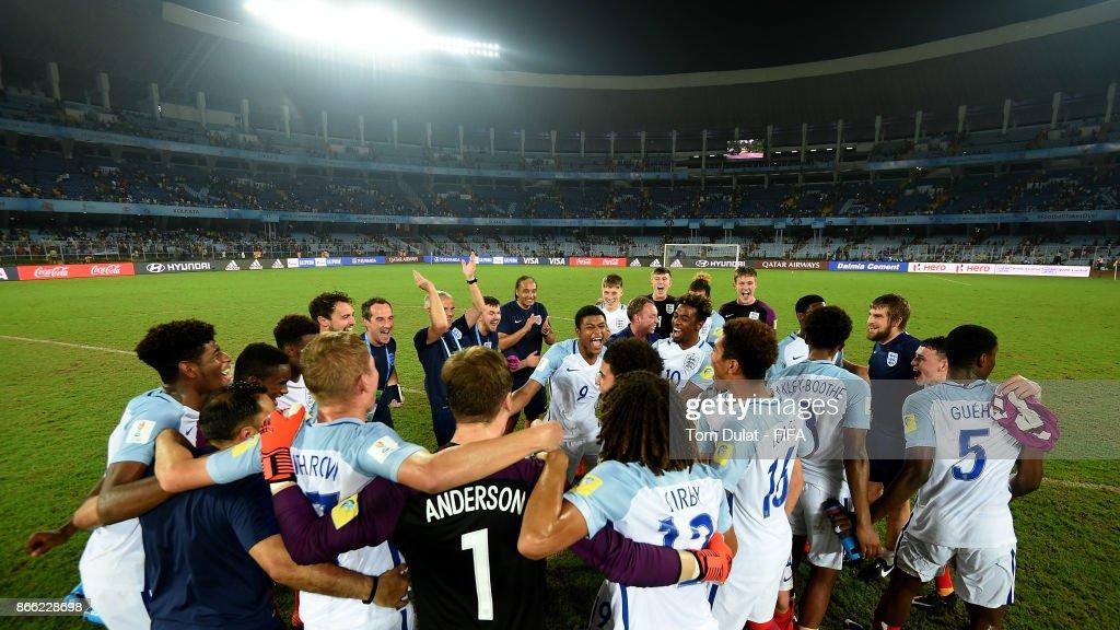 Brazil v England - FIFA U-17 World Cup India 2017 Semi Final : News Photo