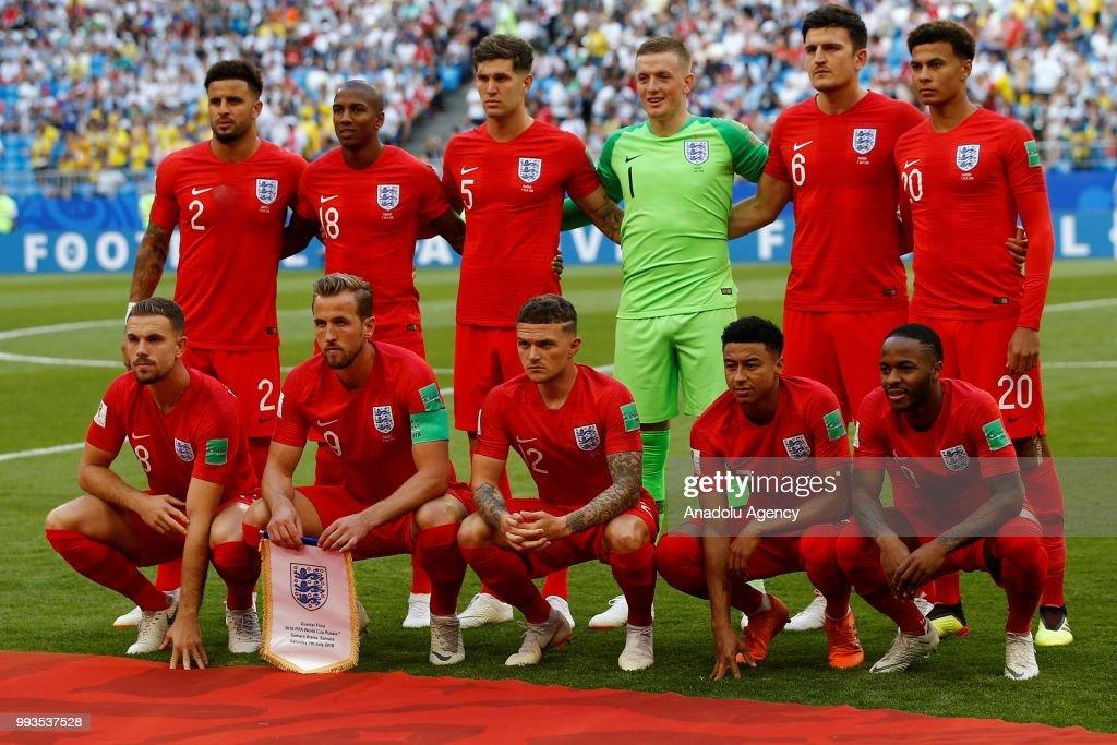 Sweden v England : Quarter Final - 2018 FIFA World Cup Russia : News Photo