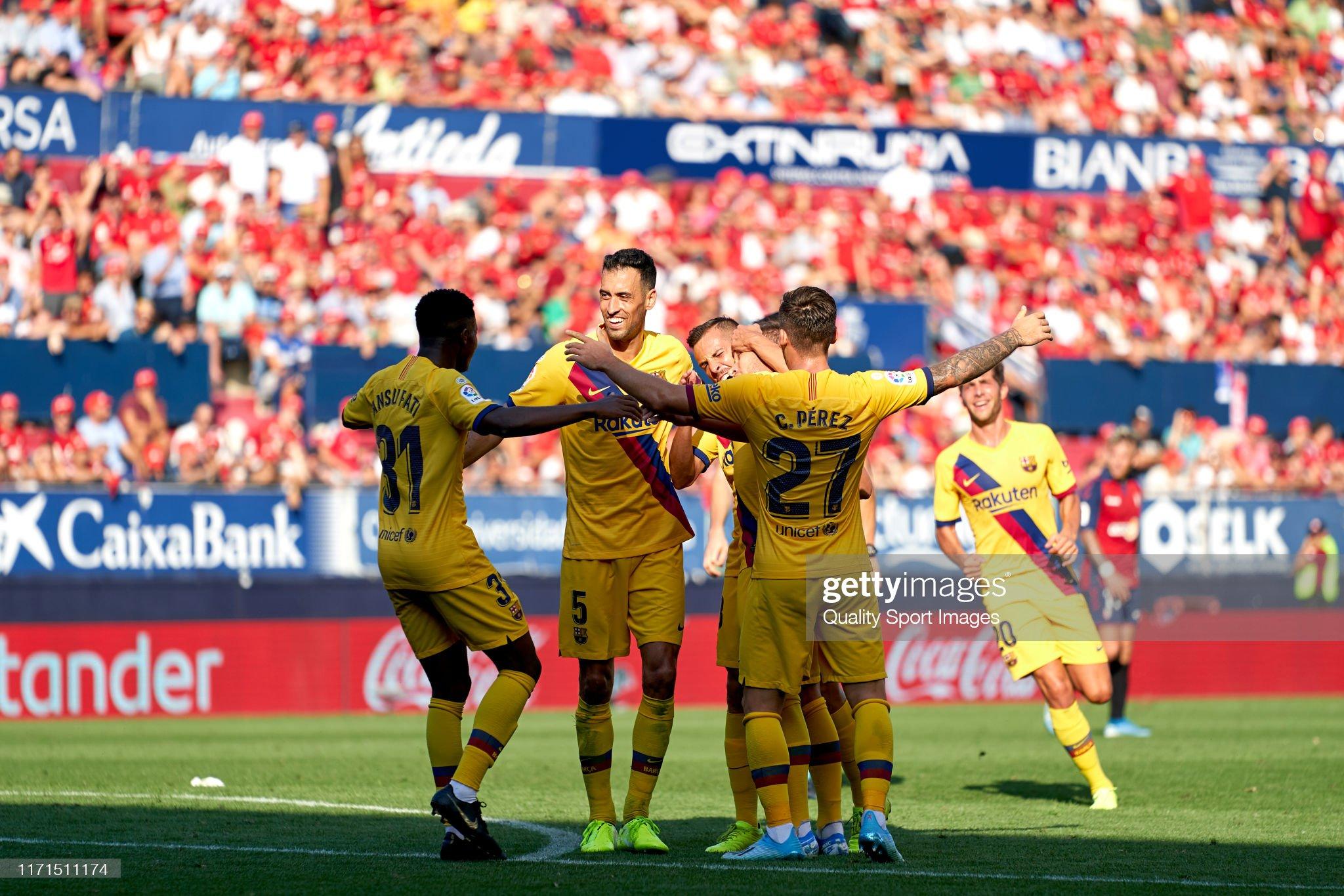 صور مباراة : أوساسونا - برشلونة 2-2 ( 31-08-2019 )  Players-of-fc-barcelona-celebrating-their-teams-second-goal-during-picture-id1171511174?s=2048x2048