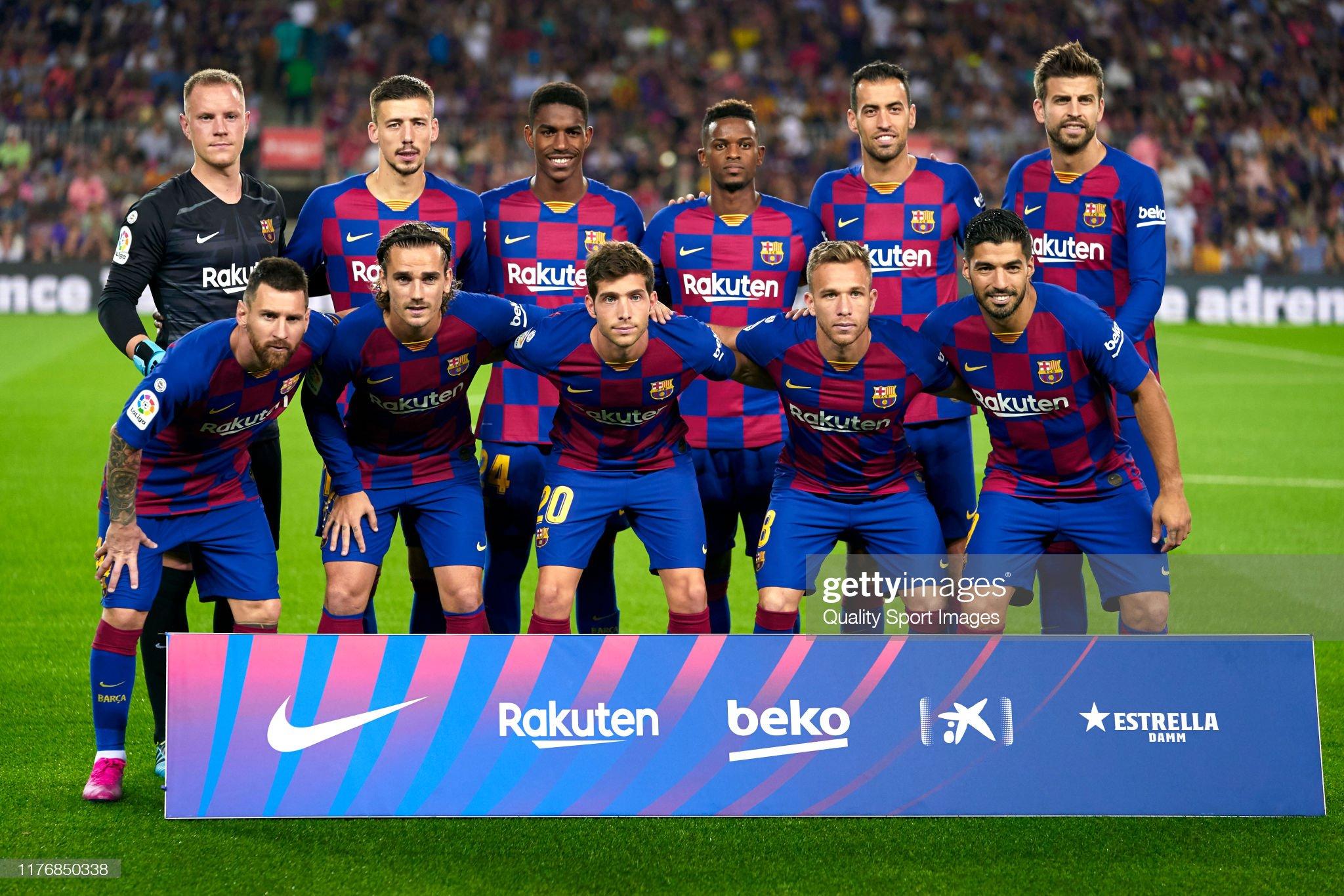 صور مباراة : برشلونة - فياريال 2-1 ( 24-09-2019 )  Players-of-fc-barcelona-poses-on-teams-line-up-prior-to-the-liga-fc-picture-id1176850338?s=2048x2048