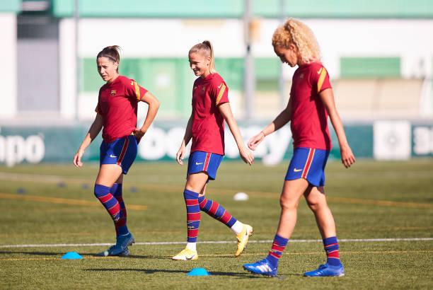 ESP: Real Betis Femenino v FC Barcelona Femenino - La Liga Femenino