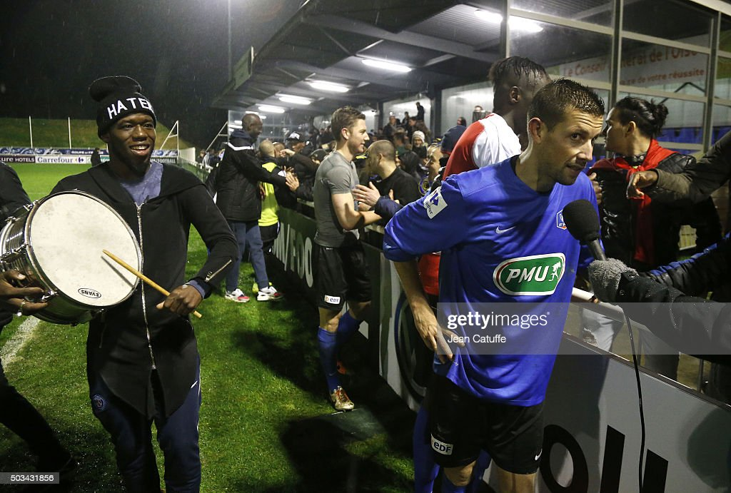 FC Chambly v Stade de Reims - French Cup : News Photo