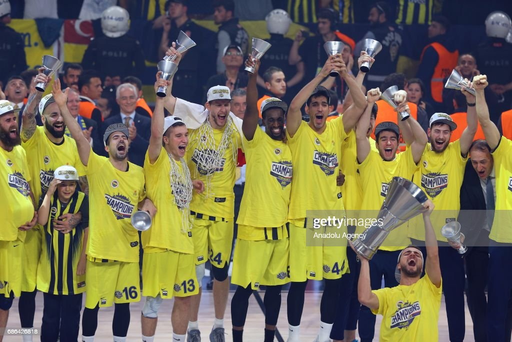 Fenerbahce wins Turkish Airlines Euroleague Final Four : News Photo