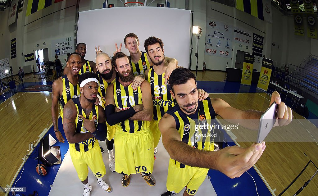 Fenerbahce Istanbul 2016/2017 Turkish Airlines EuroLeague Media Day : News Photo