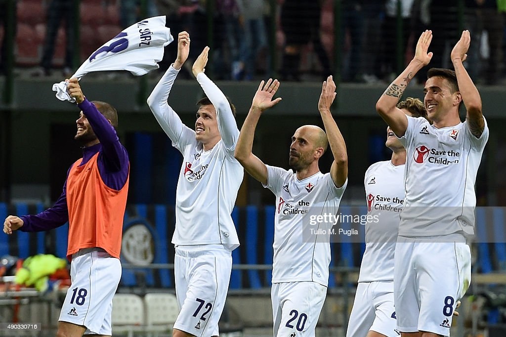 FC Internazionale Milano v ACF Fiorentina - Serie A : News Photo
