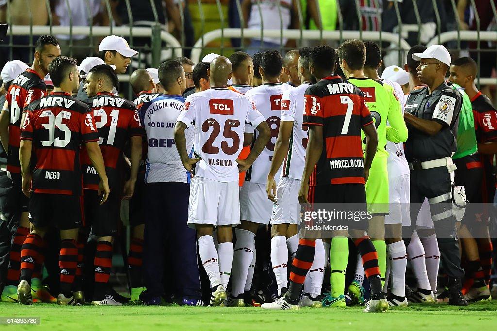 Fluminense v Flamengo - Brasileirao Series A 2016