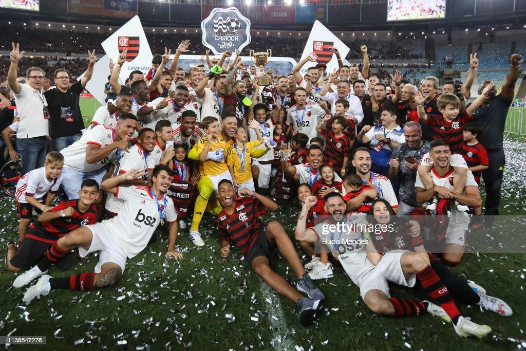 BRA: Flamengo v Vasco - State Championship Final 2