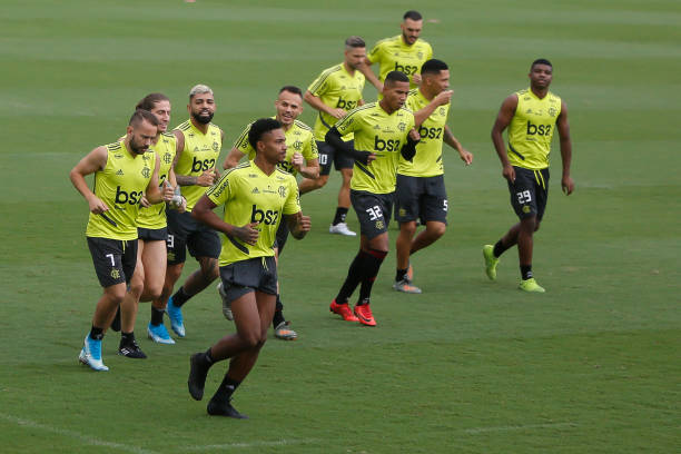 BRA: Flamengo Practice Session at Ninho do Urubu - Copa CONMEBOL Libertadores 2019 Final