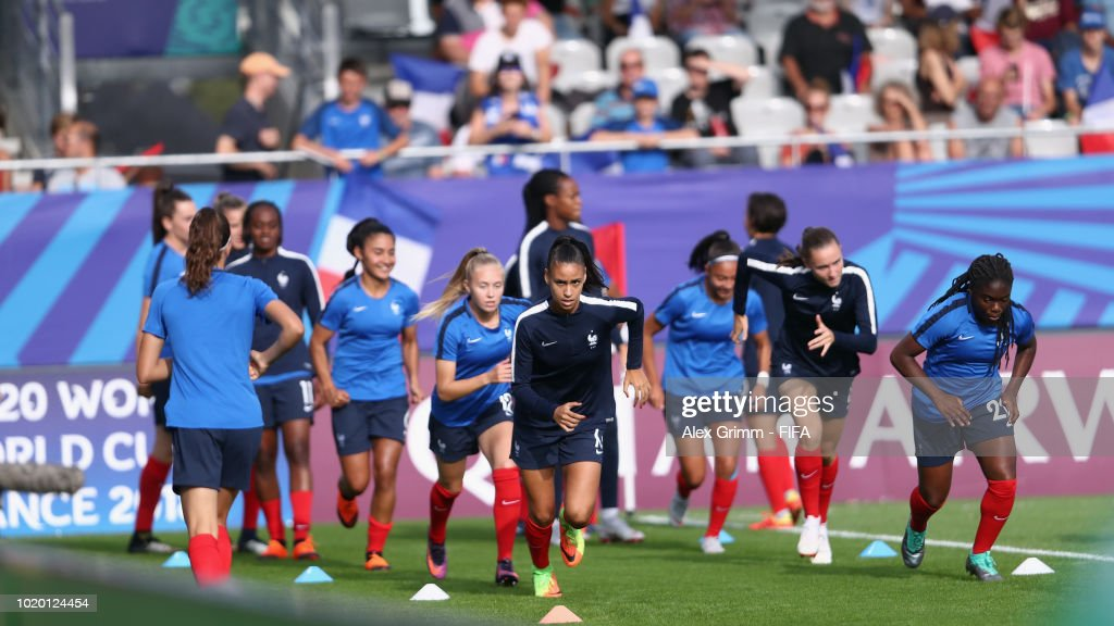 W25 v W26: Group  - FIFA U-20 Women's  World Cup France 2018 Semi Final