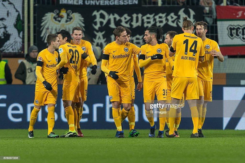 FC Augsburg v Eintracht Frankfurt - Bundesliga : Nachrichtenfoto