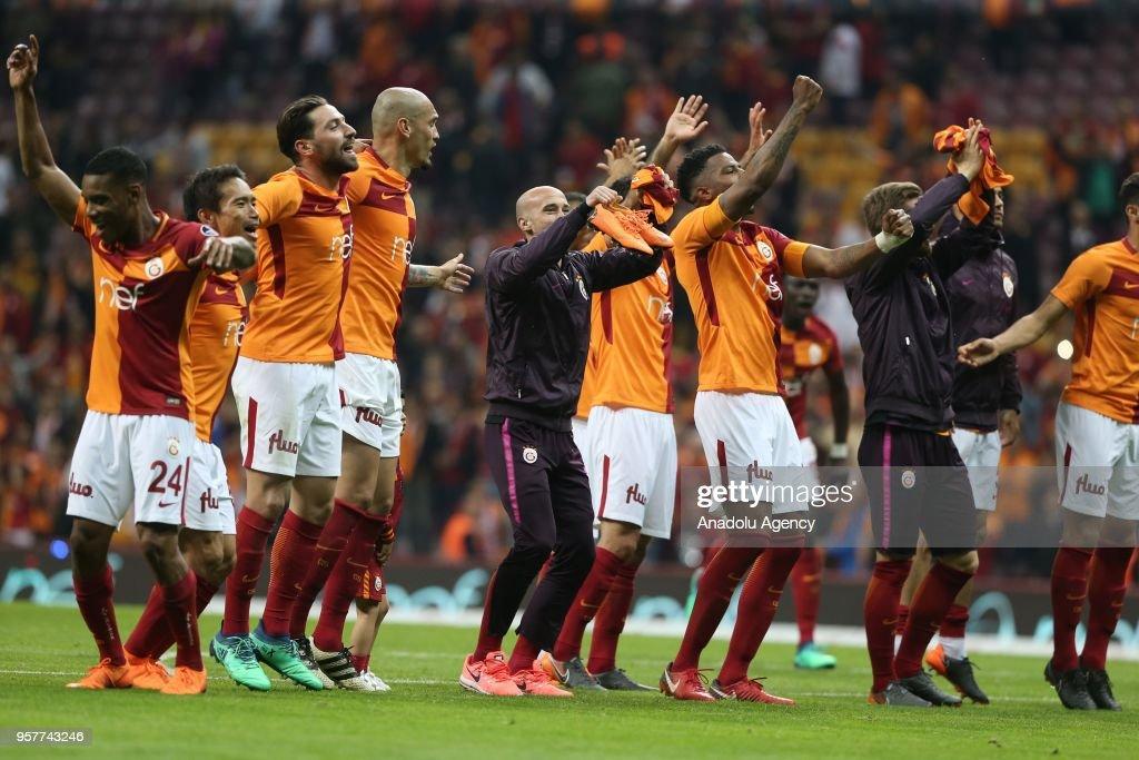 Galatasaray vs Evkur Yeni Malatyaspor: Turkish Super Lig : News Photo