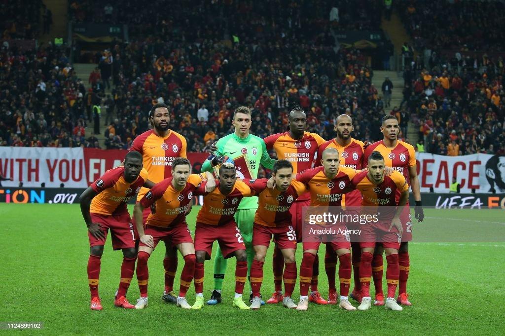 Galatasaray vs Benfica: UEFA Europa League : Foto di attualità