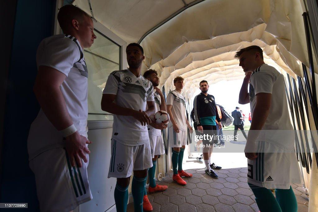 HRV: Norway U19 v Germany U19 - UEFA Elite Round