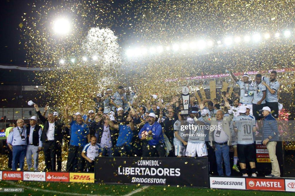 Lanus v Gremio - Copa CONMEBOL Libertadores 2017 : Fotografía de noticias