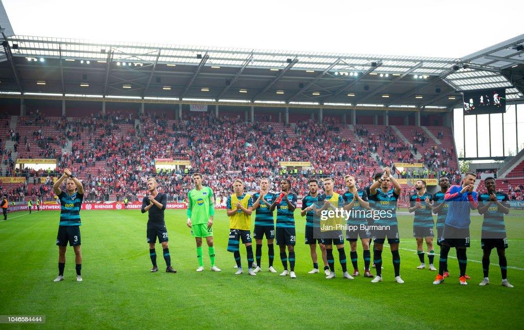 FSV Mainz 05 v Hertha BSC - Bundesliga : Nachrichtenfoto
