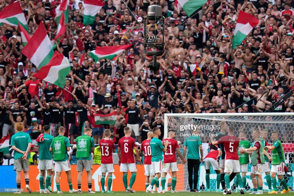 Hungary v France - UEFA Euro 2020: Group F : Photo d'actualité