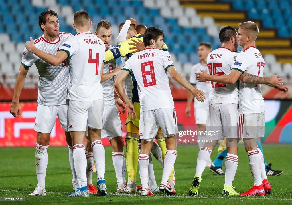 Serbia v Hungary - UEFA Nations League : News Photo