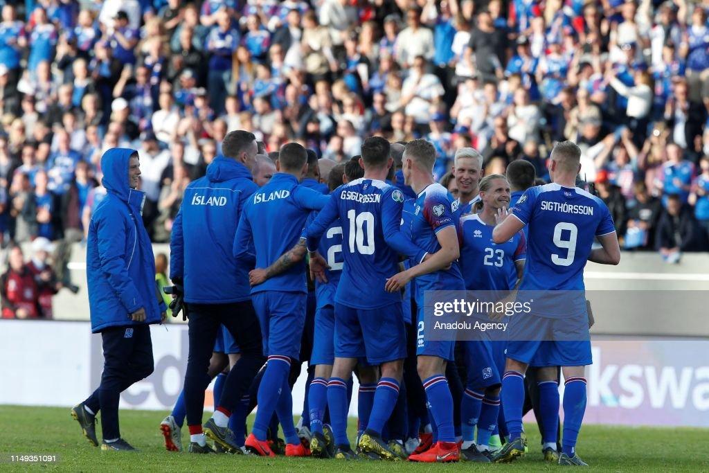 Iceland v Turkey: UEFA European Qualifying : News Photo