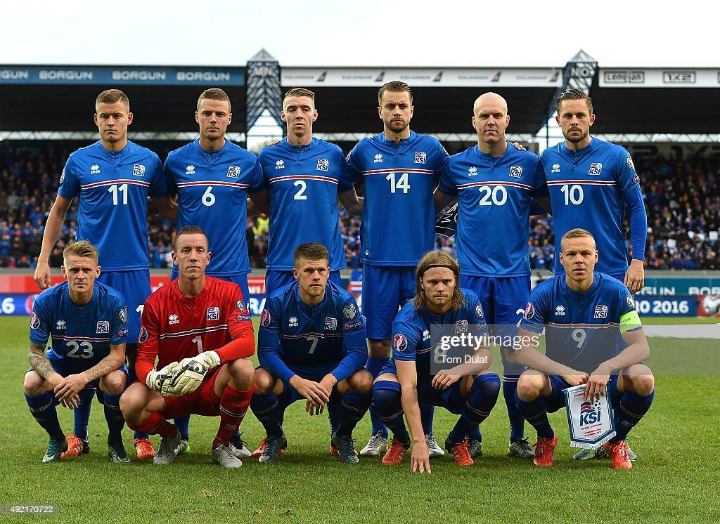 Iceland v Latvia - UEFA EURO 2016 Qualifier : News Photo