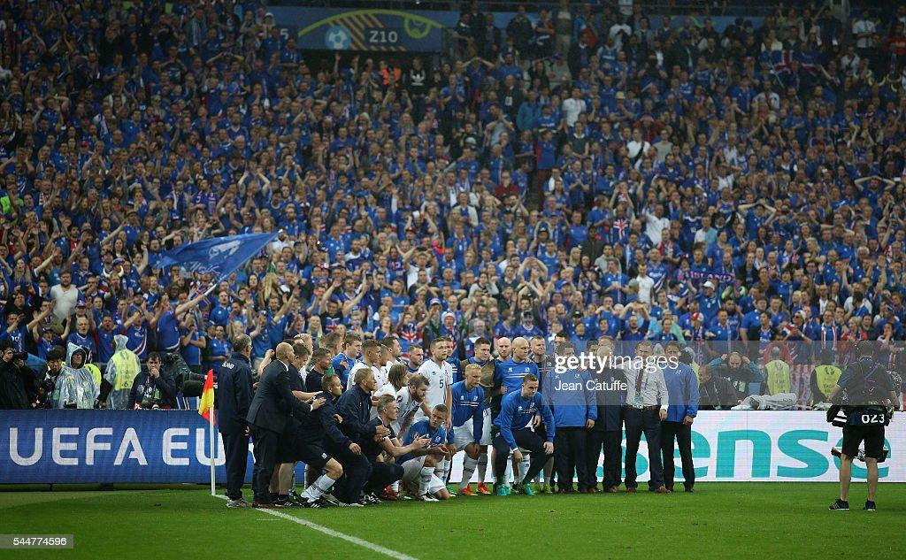 France v Iceland - Quarter Final: UEFA Euro 2016 : News Photo