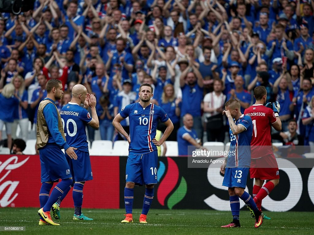 Iceland vs Hungary - EURO 2016 : News Photo